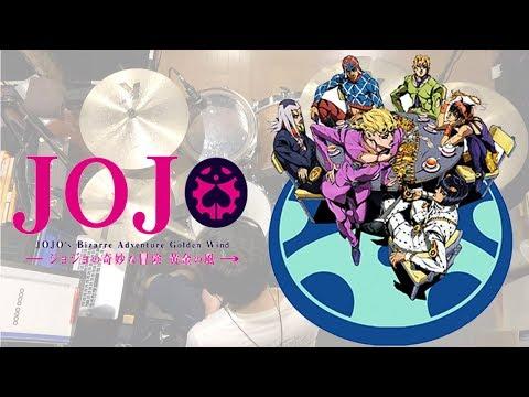 """""""JOJO'S BIZARRE ADVENTURE"""" OP """"Fighting Gold""""/ Drum cover / Coda"""