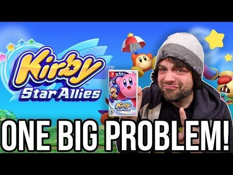 The ONE BIG PROBLEM of Kirby Star Allies for Nintendo Switch   RGT 85