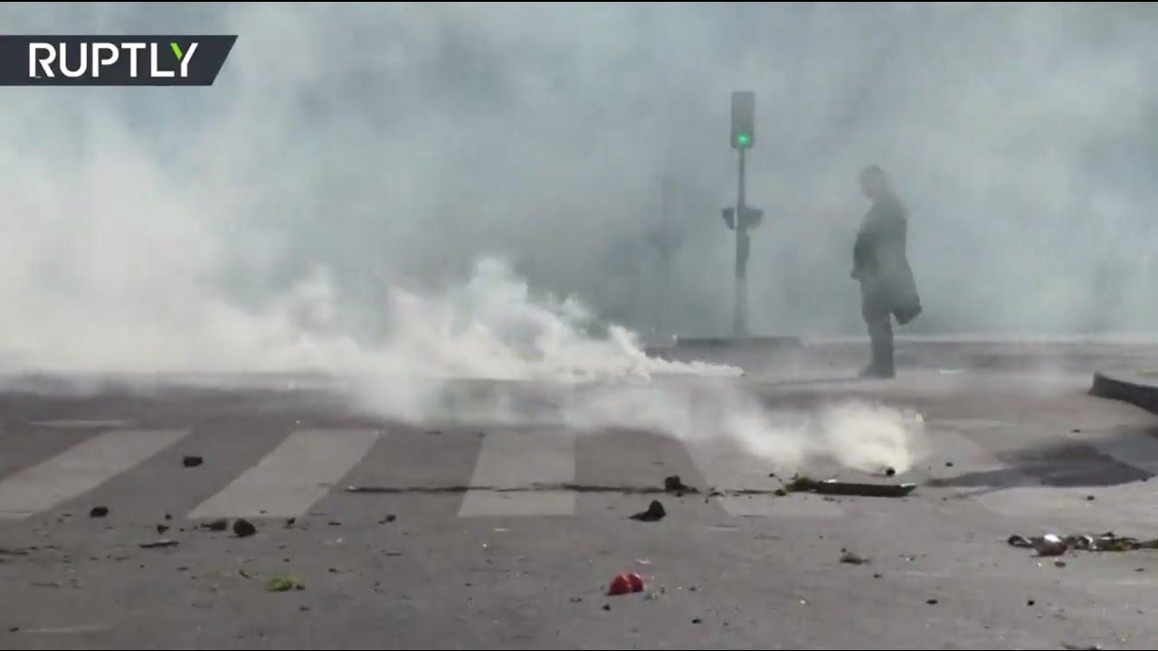В Париже жёстко подавили протесты китайской диаспоры