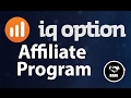 IQ Option Affiliate Dashboard Overview - Make Money With IQoption Affiliate