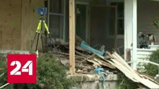 Несовершеннолетняя наркоманка протаранила жилой дом на автомобиле в США