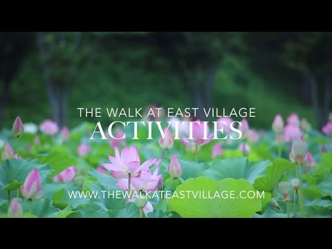 The Walk At East Village Discover Things To Do Youtube