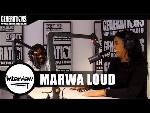 "Marwa Loud - Interview ""Loud"" (Son disque d'or, Diam's, sa vie de famille)"