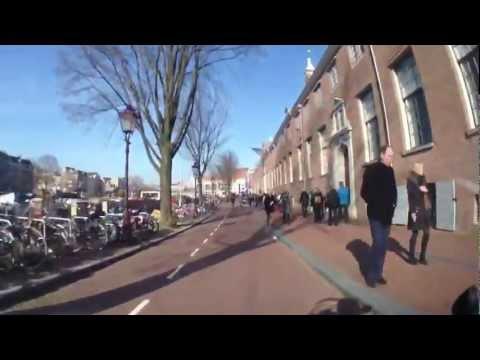 Ritje Amsterdam met Piaggio MP3 LT 500 Sport