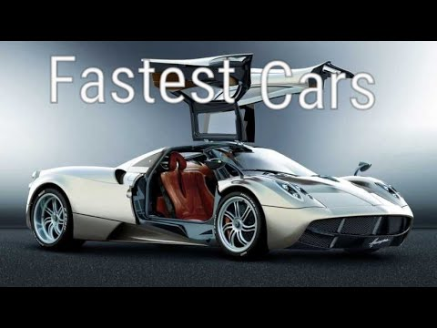 TOP #10 Fastest Cars In The World||