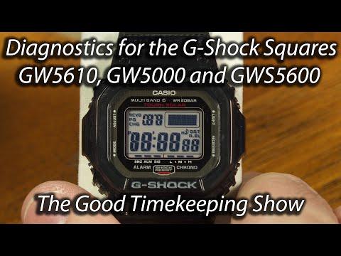 Diagnostics For G-Shock Squares