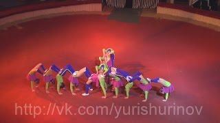 Отчетный концерт НАДЕЖДА 2015. Партерные акробаты. Чудо дети. (24/34). Circus 馬戲團