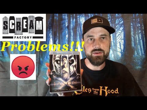 Problems Found With The Scream Factory Friday The 13th Collection!!!