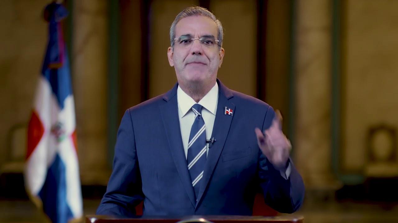 Presidente Luis Abinader le habla al país