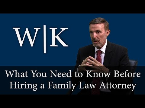 Tips to Know Before Hiring a Family Law Attorney