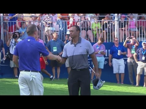 Tiger Woods Round 3 highlights from Wyndham