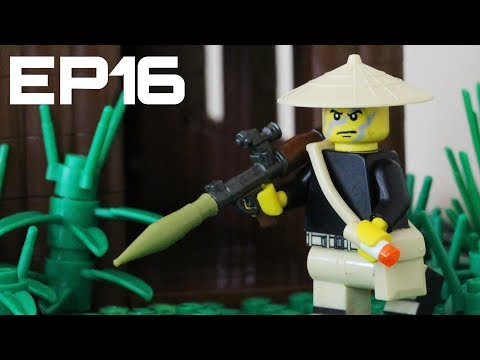 LEGO Battlefield Vietnam: Building The Tet Offensive In LEGO: EP16 - Vietcong Huts Done!