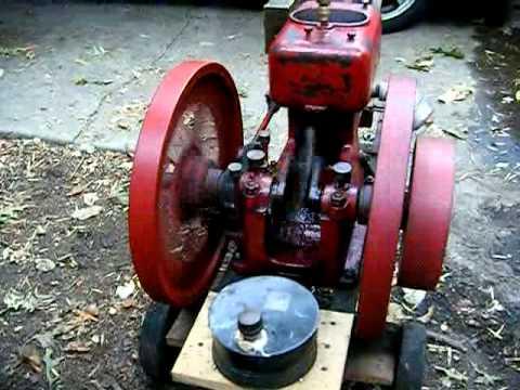 Antique Economy XK Engine Running