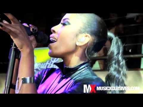 Sevyn Streeter performs 'Come Over' at 135th Street Holiday Party