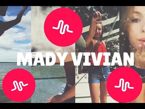 OFFICIAL Mady Vivian Musical.ly Compilation (part 1)