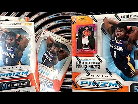 Walmart MEGA HAUL!!! 2019 Prizm Basketball, Topps Series 2, 2018 Update Baseball Cards