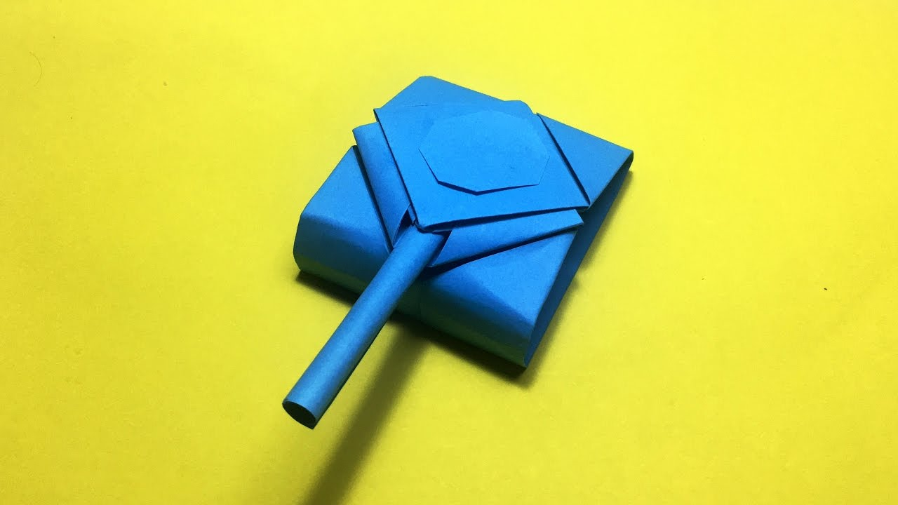 How To Make Origami Tank Army Tank That Shoots Diy Youtube