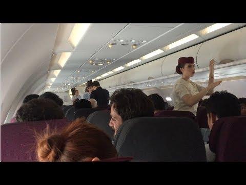 *RARE* Qatar Airways A319 Flight Experience: QR919 Yangon to Doha