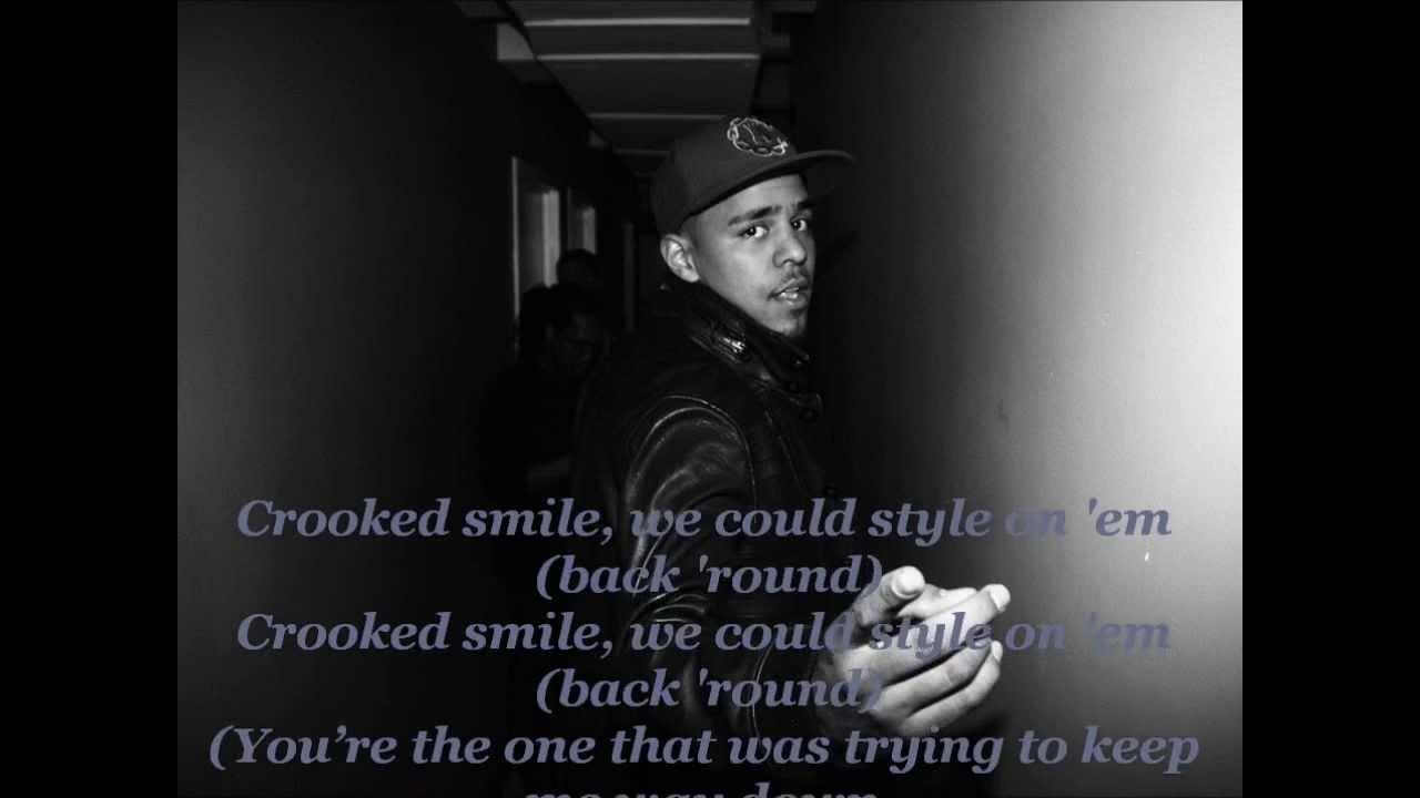 J Cole Crooked Smile Artwork J. Cole -- Crooked Smi...