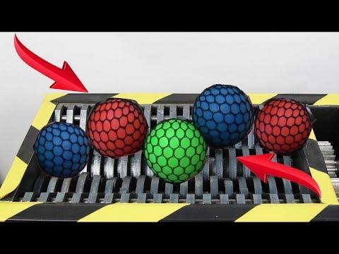 Experiment Shredding Slime Antistress Balls