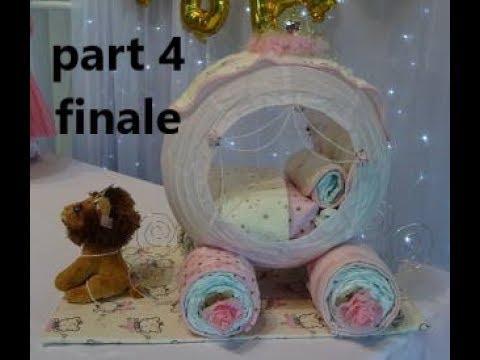 princess-carriage-diaper-cake-part-4-finale