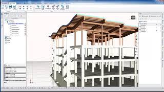 Visualizzazione modello 3D con Blumatica BIM ArchIT
