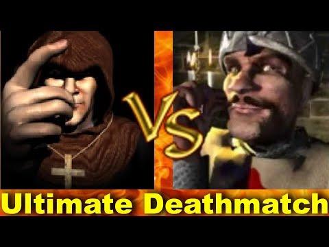 Abbot vs Sheriff - Ultimate Deathmatch | Stronghold Crusader AI-Battle