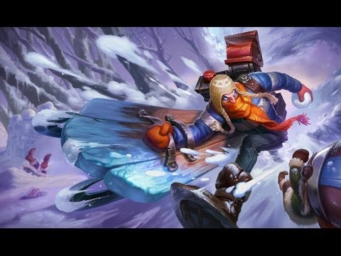 League of Legends - Singed des neiges