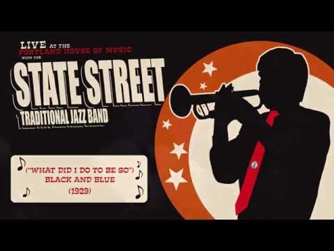 The State Street Traditional Jazz Band - Black and Blue