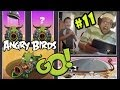Corporal Pig Makes Dad Cry! Let's Play Angry Birds Go Pt. 11 - Frustrated Face Cam! 4#$%^#@^947h#