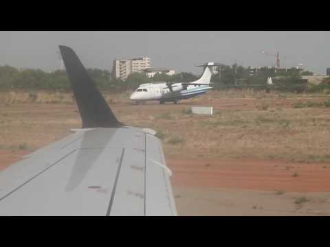 Smooth take-off from Ouagadougou 3