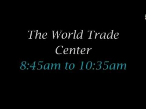 The World Trade Center 8:45am to 10:35am