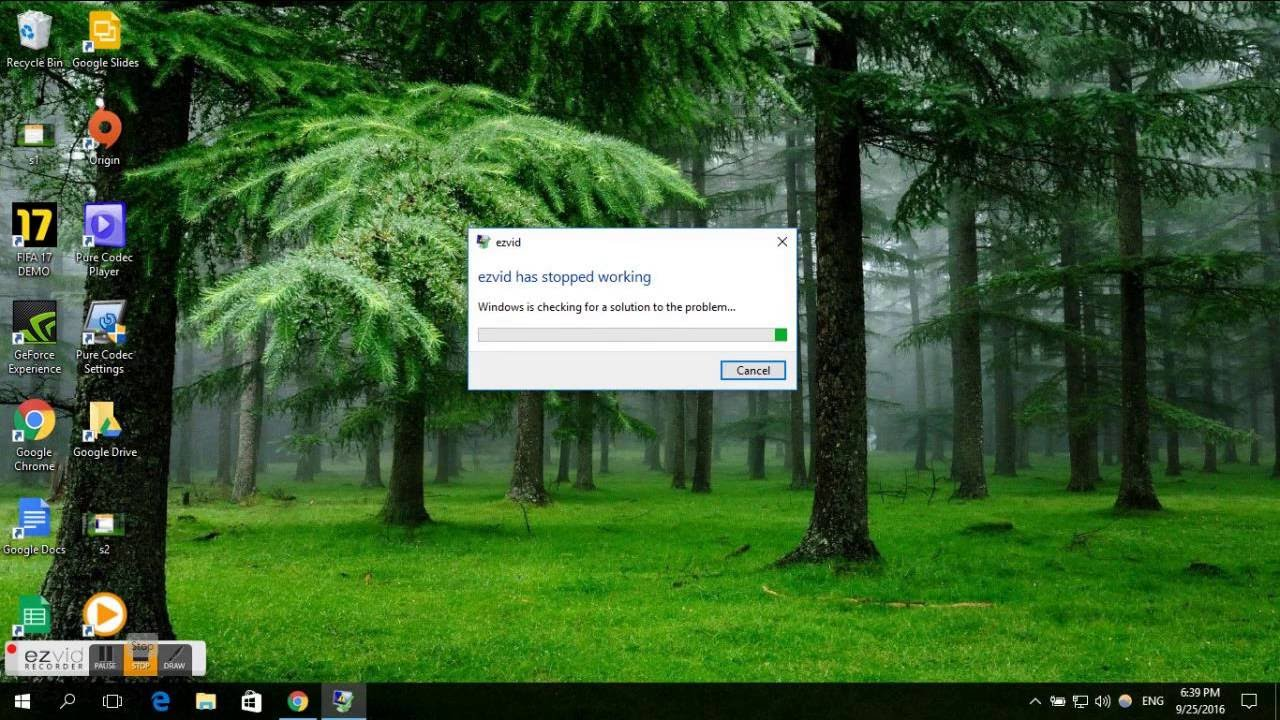how to fix vectra has stopped working in windows 10