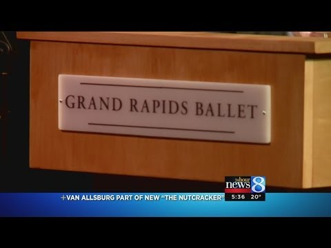 Grand Rapids Ballet Partnership with Hospice of Michigan for New Nutcracker