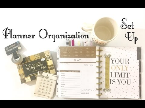 The Happy Planner Setup & Organization ~With Budget & Fitness Edition