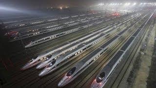 Đường tàu cao tốc dài nhất thế giới ở TQ