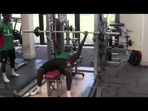 Black Stars Ghana national football team STRENGTH AND CONDITIONING 2012