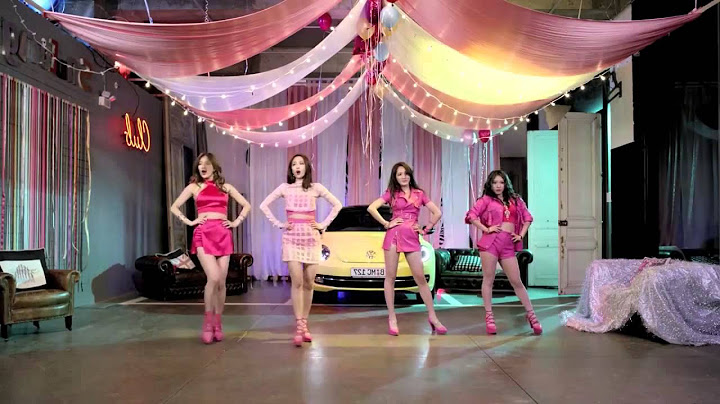 miss a  only you  dance practice mv set mirrored