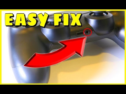 HOW TO REMOVE BROKEN HEADSET PIECE ON THE PS4 CONTROLLER (VERY EASY)