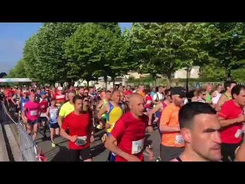 Salida del III Medio Maratón Cidade de Lugo