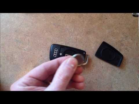 audi a4 replace battery remote radio control key fob. Black Bedroom Furniture Sets. Home Design Ideas