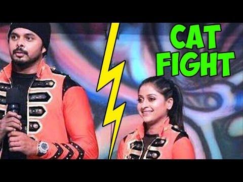 Jhalak Dikhhla Jaa 7 : OMG! Major CAT FIGHT between Sreesanth and Sneha