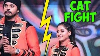 Jhalak Dikhhla Jaa 7 : OMG! Major CAT FIGHT between Sreesanth and Sneha