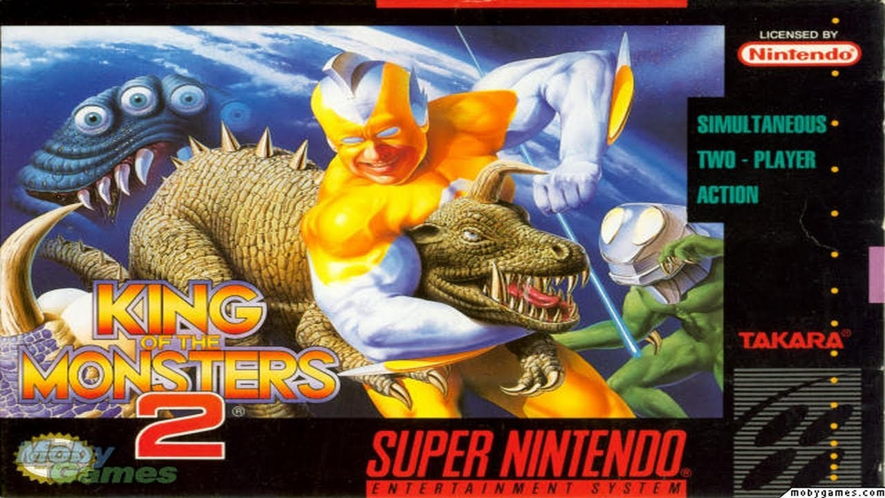 King Of The Monsters 2 (Snes) - YouTube