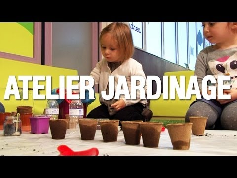 atelier jardinage pour les enfants partir de 2 ans youtube. Black Bedroom Furniture Sets. Home Design Ideas