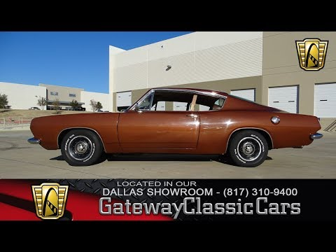 1967 Plymouth Barracuda #605-DFW Gateway Classic Cars of Dallas