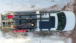 Making My Truck Camping Setup Off Grid (DIY Solar Install)