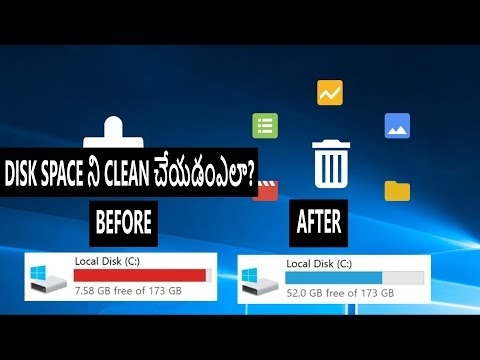 How to clean disk space in Windows 10