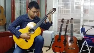 Sông Đac Krong mua xuân về - Tố Hải. Soạn guitar: Vũ Hiển