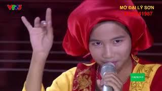 """Cậu bé làm khán giả nổi da gà với bài hát xẩm pha rap * Đình Tâm hát """"Xẩm quê choa"""""""